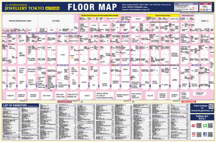 Last time floor map